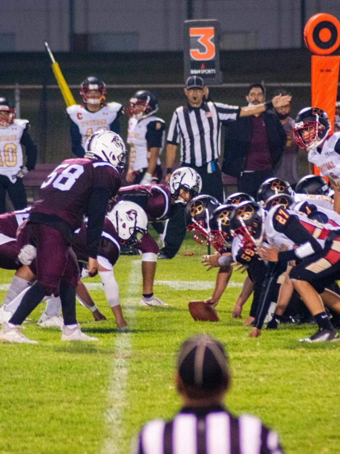 Varsity Football's Defense Secures Shutout Victory over Workman Lobos at First Home Game